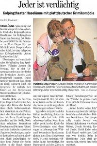 Meppener Tagespost vom 22.10.20014