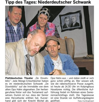 Meppener Tagespost 05.11.2013