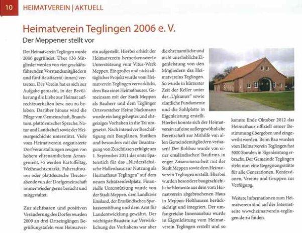 Der Meppener -August 2013-
